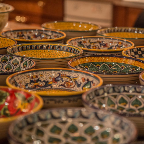 Ceramics - Via Umbria