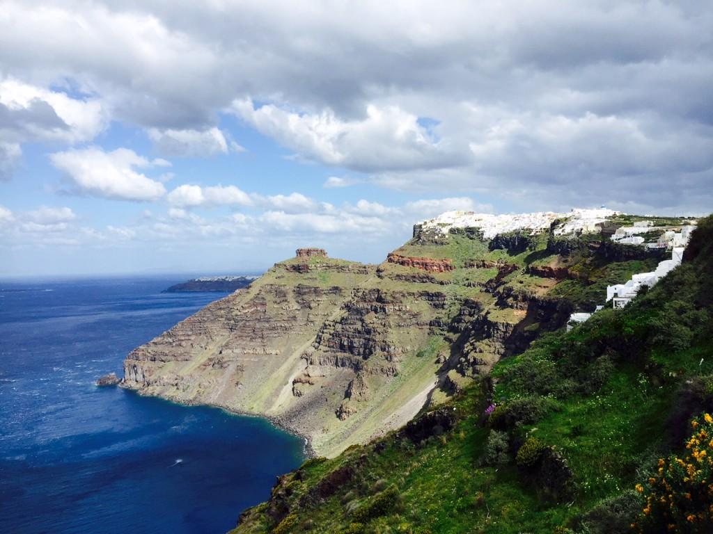 Hike in Santorini