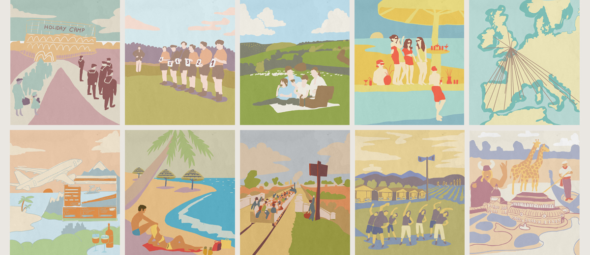 The Great British Holiday - An illustrated history
