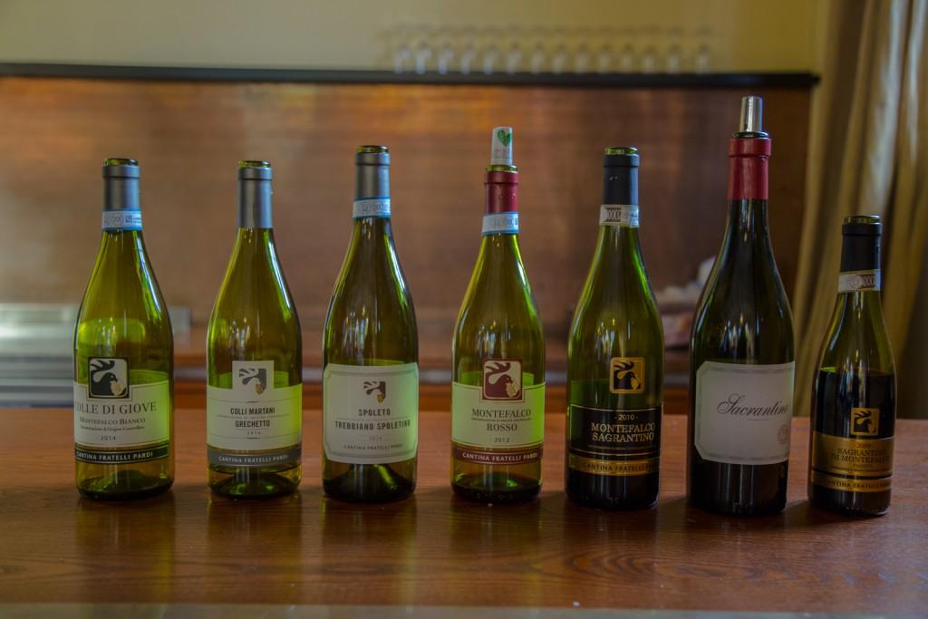 Umbrian Wines - Via Umbria
