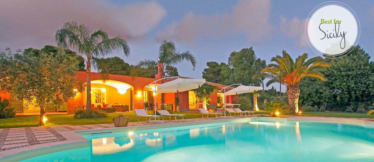 Villa Alvino - Sicily - Sleeps 6 - 8
