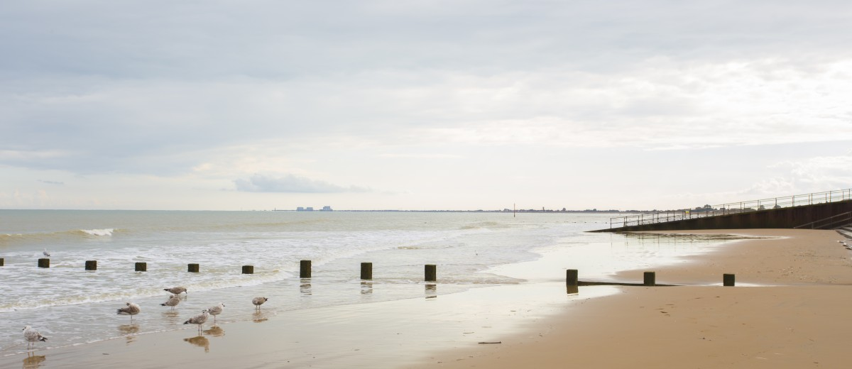 Beach in Dymchurch