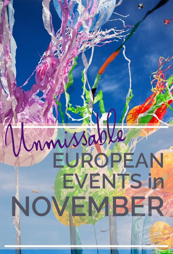 Best European Events in November