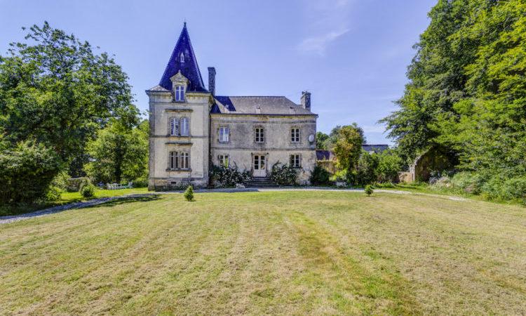 Chateau Lignol, Brittany - France
