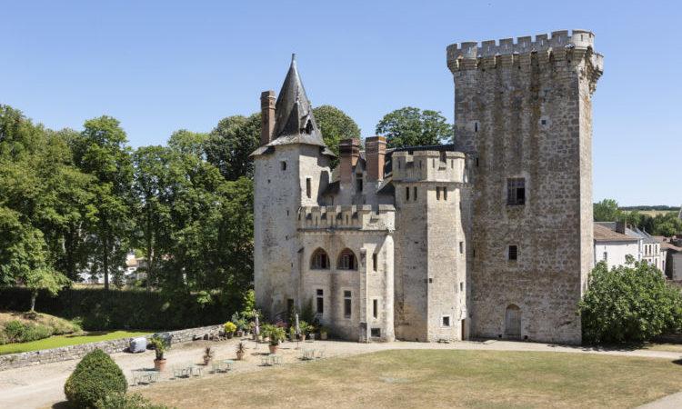 Chateau de St Louis Keep - Loire Valley, France