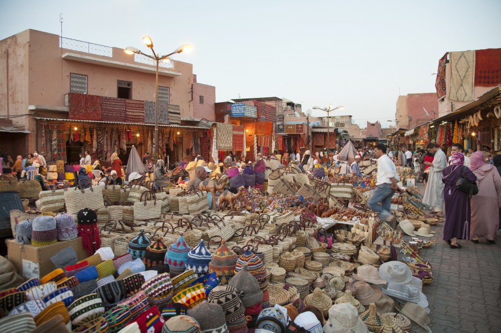 Moroccan Market - Luxury Villas in Morocco