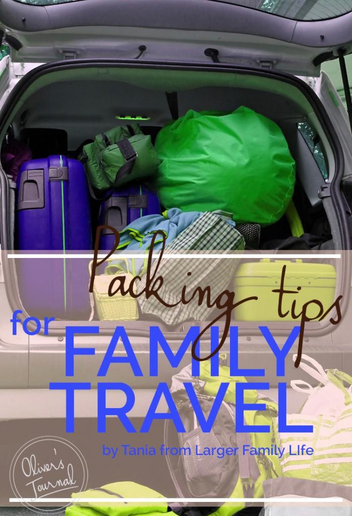 Packing tips for family travel