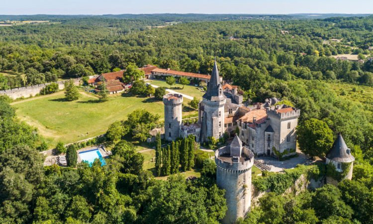 Troubadour Castle - Dordogne, France