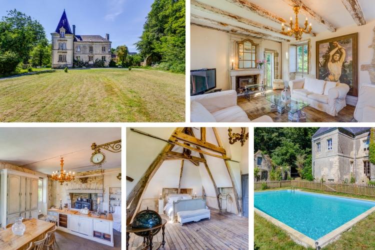 Chateau Lignol - Brittany - Oliver's Travels