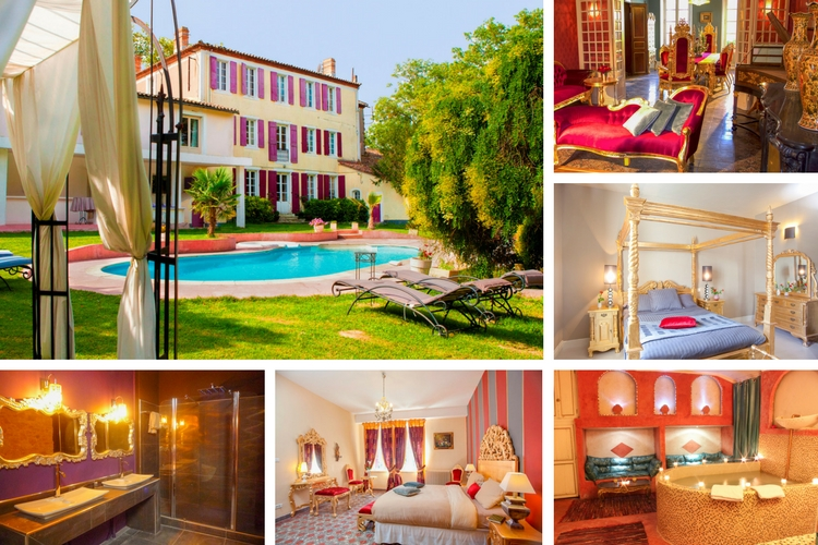 Chateau Baroque - Languedoc - Oliver's Travels