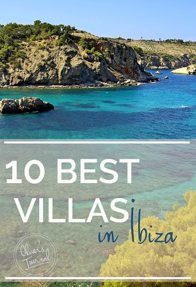 10 best villas in Ibiza