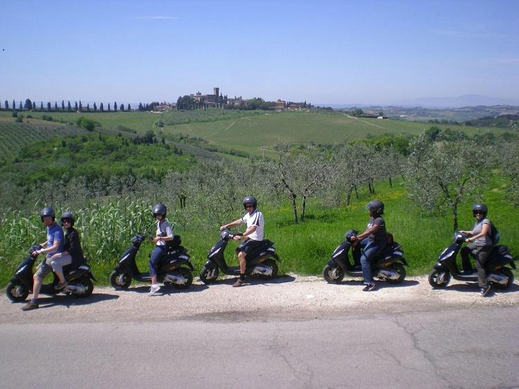 Tuscany Vespa Tours - Tuscany