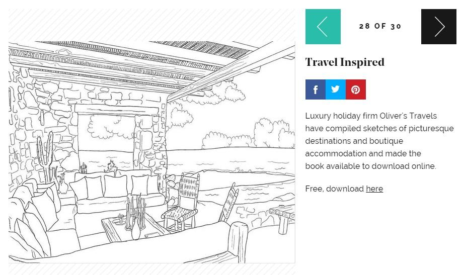 Stylist Coverage - Luxury Villa Holidays - Oliver's Travels