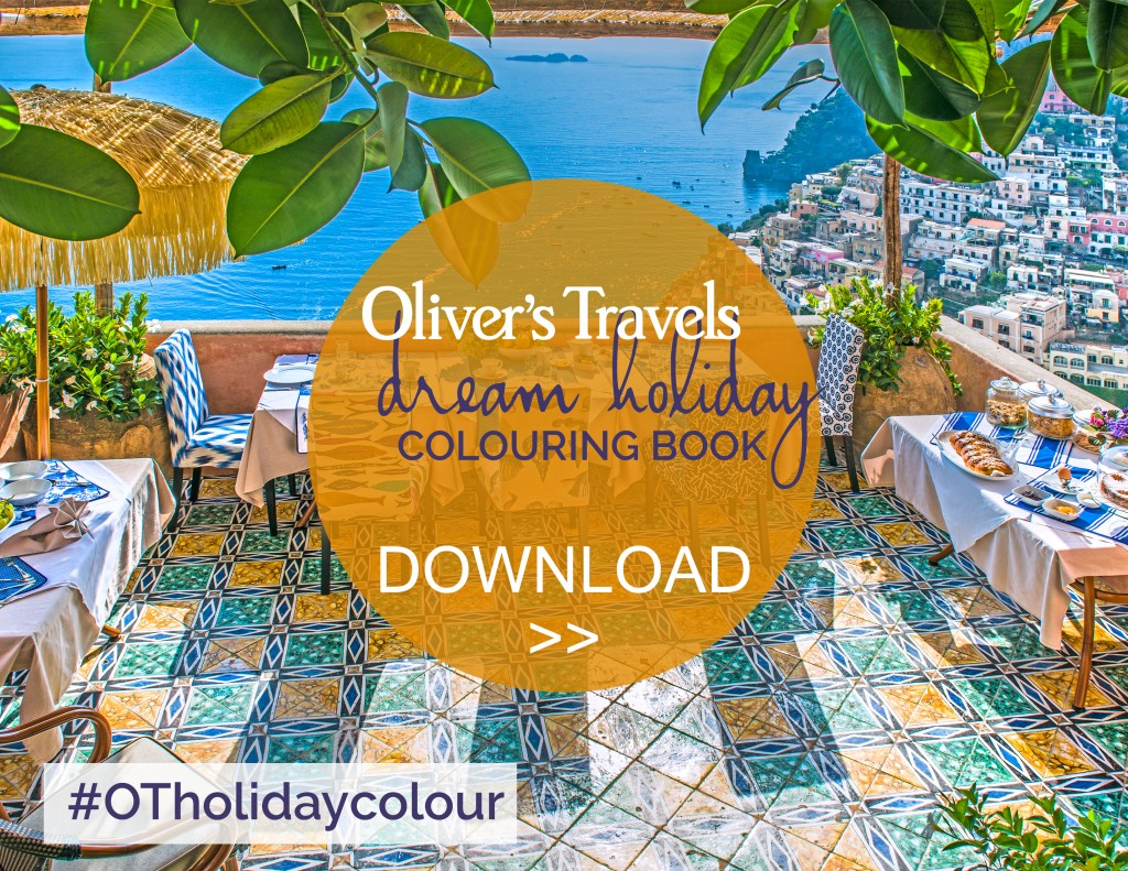 Oliver's Travels - Free Colouring Book for grownups