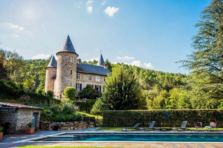 Chateau Chamborigaud - Sleeps 18