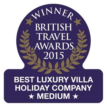 Oliver's Travels BTA Award - Luxury Villas to Rent