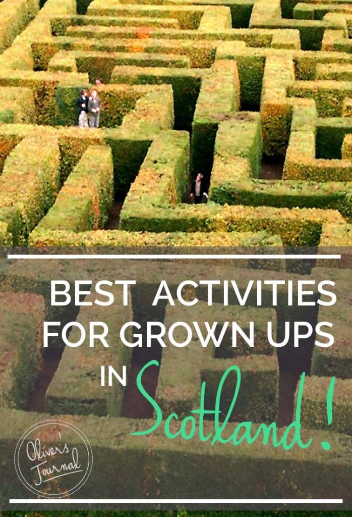 Best activities in Scotland for grown ups