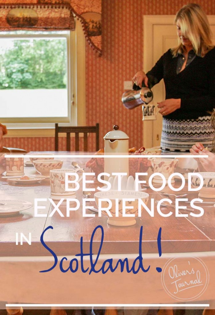 Best food experiences in scotland