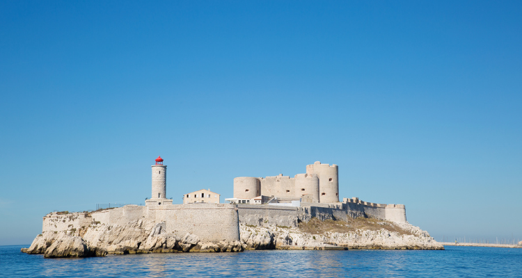 chateau d'if. marseille. france