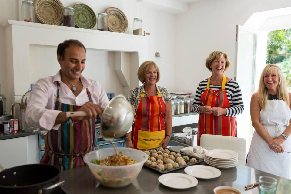 Chez Cartier - Cooking Lesson