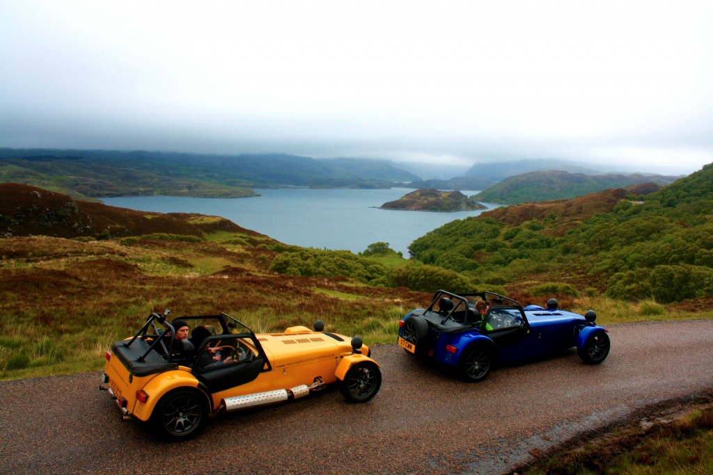 Highland Caterham Hire - Scotland | Best Group Activities in Scotland
