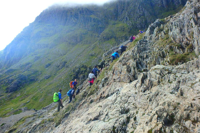 Climb Snowdon - Wales