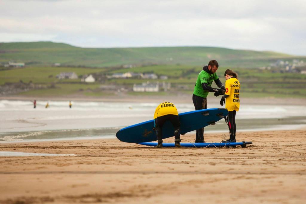 Ben's Surf Clinic - Ireland