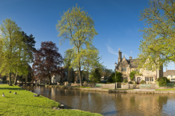 Bourton on the water, Cotswolds header