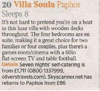 Villa Soula - Paphos - Oliver's Travels