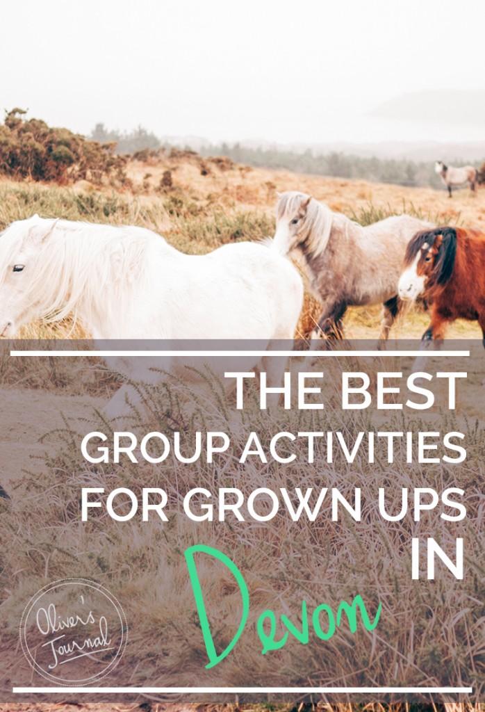 The best group activities for grown ups in Devon