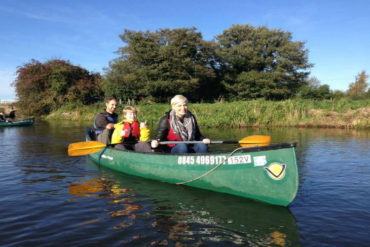 The Canoe Man - Norfolk