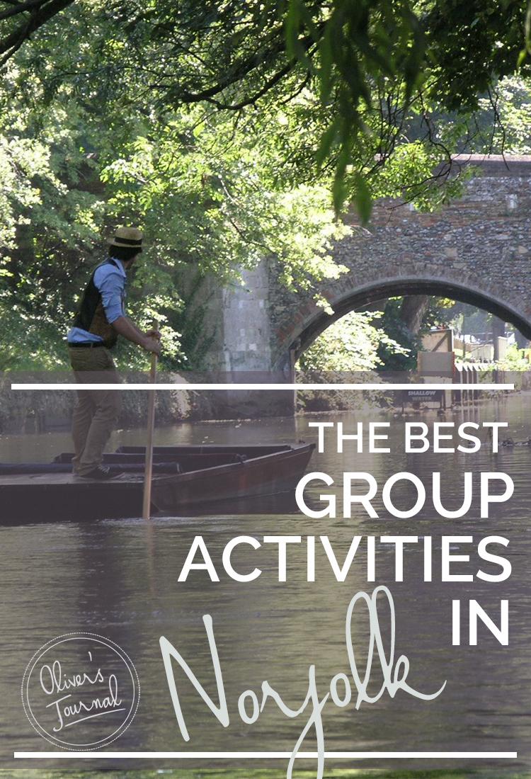 The best group activities in Norfolk