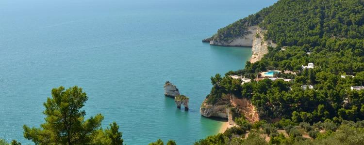 Beaches in Puglia