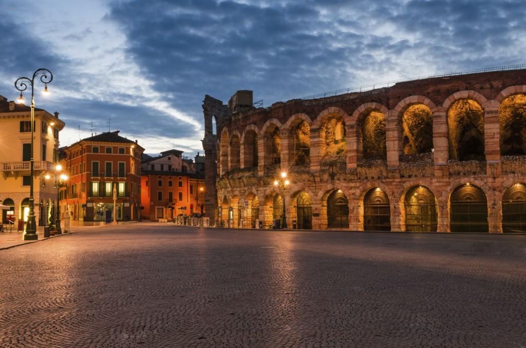 Verona amphitheatre - Italy - Oliver's Travels