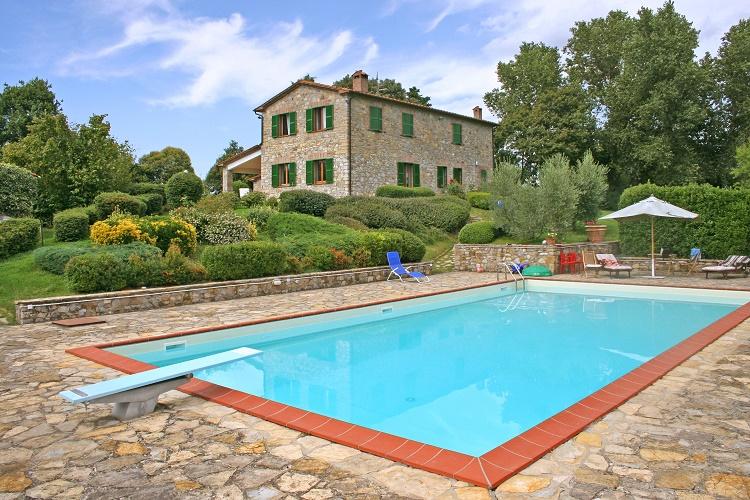 Villa Quilici - Umbria - Oliver's Travels