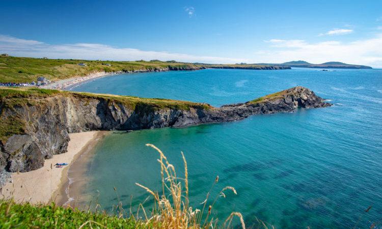 Small beach of Tyddewi (Saint Davids), Wales, United Kingdom