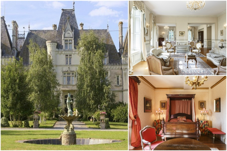 Chateau Abelia Du Lac - Loire Valley - Oliver's Travels
