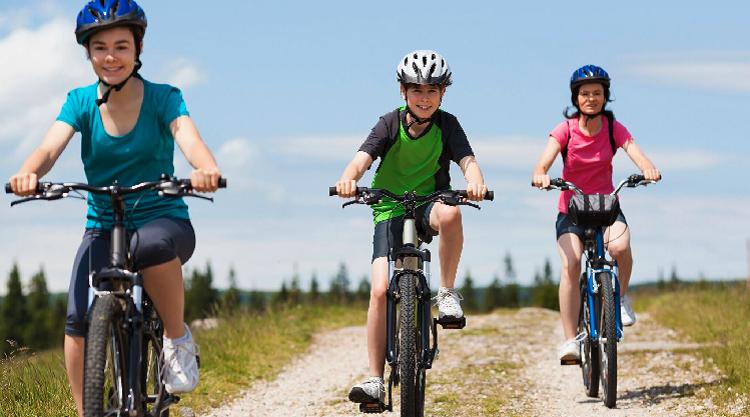 Family Bike Ride -iStock