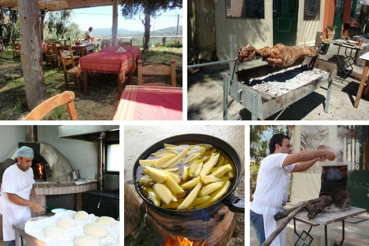 Ntounias Traditional Cretan Food, Greece