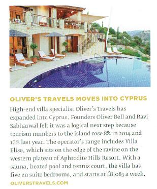 Aspire Magazine - Oliver's Travels - Cyprus
