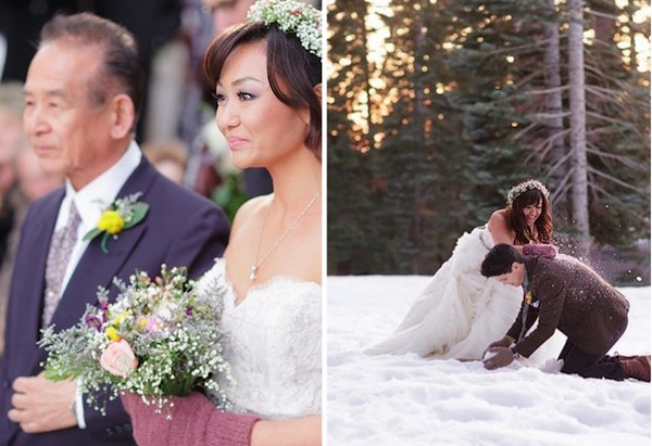 24 Unbelievable Winter Weddings
