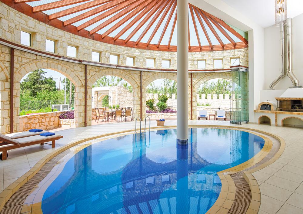 Atlantica Caldrea Villa - Crete - Olivers Travels