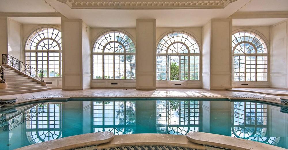 Indoor pool villa  10 Villas with Amazing Indoor Pools   Oliver's Travels