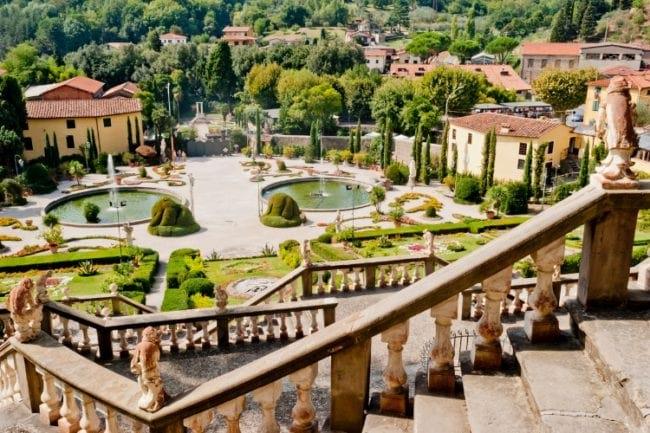 Gardens of Garzoni italy