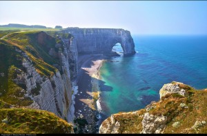 Cliffs of Etretat - Normandy - by Moyan Brenn via Flickr