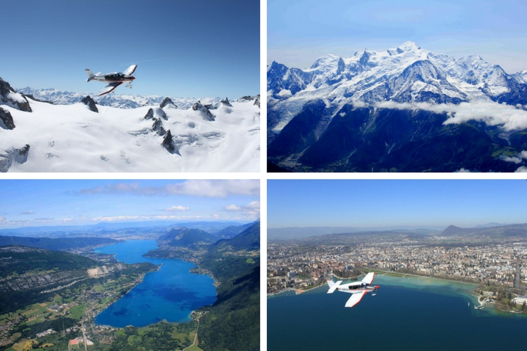 Experience the Alps from above with Avialpes - Mont Blanc Airport, France