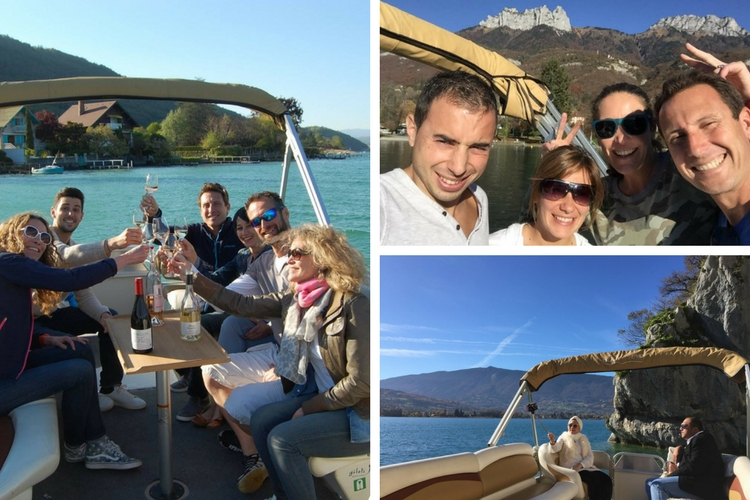 Sail on a secluded alpine lake with Water Taxi Annecy - Annecy, France Family activities in rhone-alpes