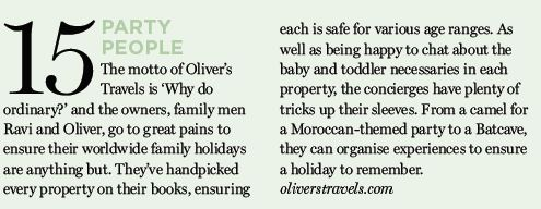 Gurgle Magazine - Top Travel Companies - Oliver's Travels