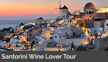 Santorini Wine Lover Tour