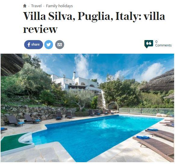 The Telegraph - Villa Silva Review - Oliver's Travels